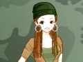 Joc Soldier girl dress-up  online - jocs en línia